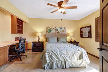 Guest Bedroom from Jack and Jill Bathroom