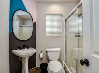 Full Hallway Guest Bathroom