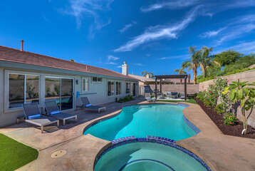Unobstructed Pool Area
