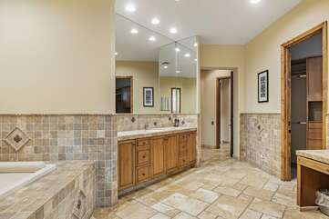 Alternate View of Grand Master Bathroom