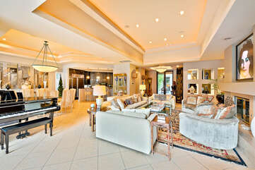 Another Look at Living Room with Lovely Piano