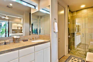 Ensuite Guest Bathroom with Walk-In Shower