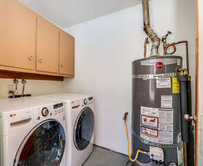 LG Energy Efficient Washer and Dryer