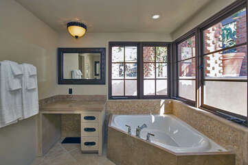 139 Upstairs Master Bath with Soaking Tub