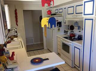 Fun Kitchen with Pops of Color