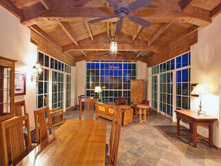 The Great Room with Vaulted Ceilings