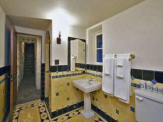 Downstairs Unique Guest Bathroom