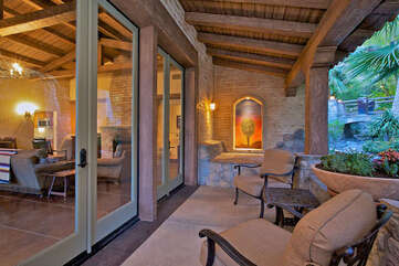 143 Private Patio Off of Living Room