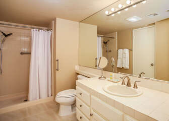 Master Bathroom with Stall Shower