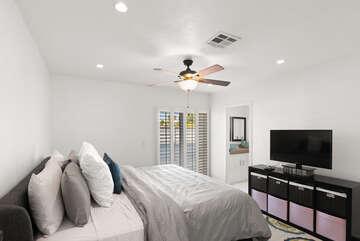 Master Bedroom Reversed View