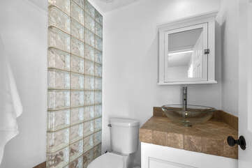 Ensuite Guest Bathroom One with Stall Shower