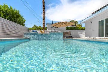 Enjoy the Sparkling Pool