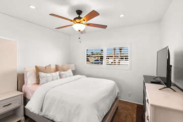 Guest Room Two with Queen Bed