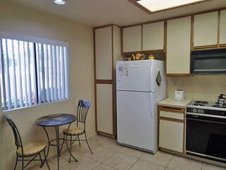 Alternate View of Kitchen with Bistro Table