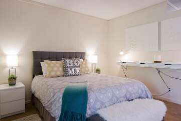 Sleeping Area with Comfortable Bedding