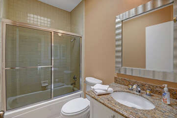 Guest Bathroom with Tub and Shower