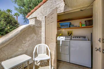 Exclusive Use Full Size Washer / Dryer