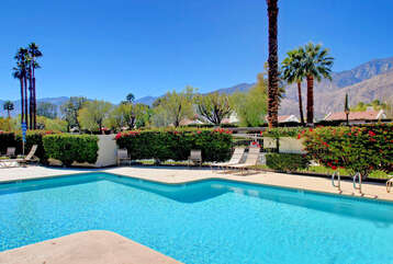 Mountain Views from Pool