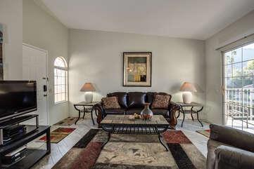 Comfortable Furnishings Throughout Apartment