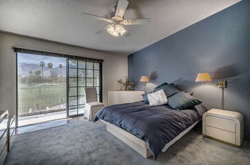 Master Suite Overlooking Mesquite Country Club
