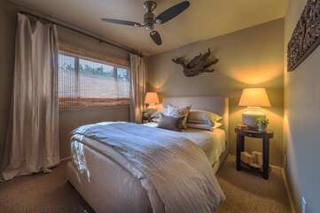 Beautifully Decorated Guest Bedroom