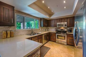 Spacious Updated and Bright Kitchen