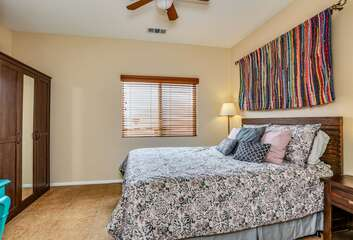 Guest Room One with Queen Bed with Shared Bath