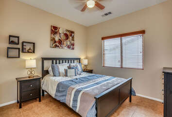 Guest Bedroom Two with Shared Bath