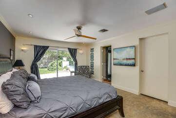 Alternate Master Bedroom View