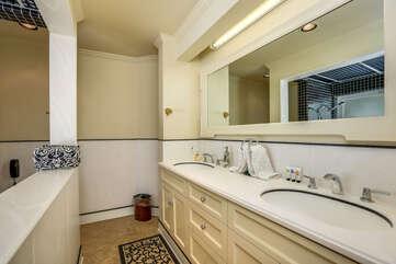 Duel Master Bathroom Sinks