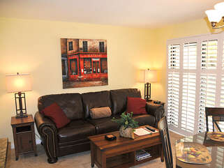 Family Room with Updated Shutters