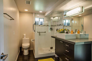 Modern and Well Furnished Master Bathroom