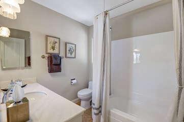 Spacious Guest Bathroom