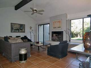 Newly Tiled Living Room