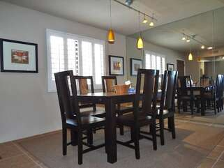 Modern and Spacious Dining Room