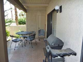 Patio Area with BBQ