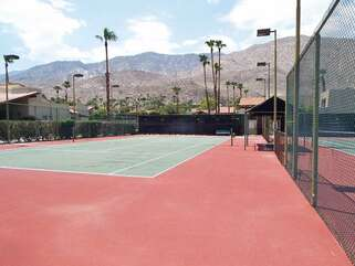 Tennis Courts at Canyon Country Club Estates