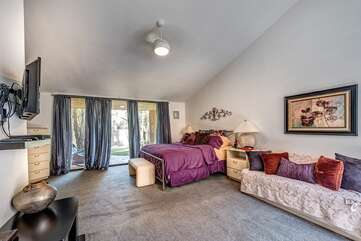 Large Master Suite and Sitting Room