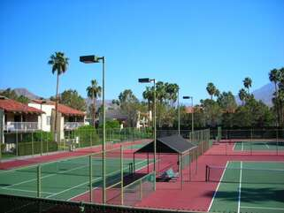 Tennis Courts View 2