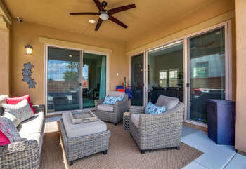 Patio Ceiling Fans and Recessed Lighting