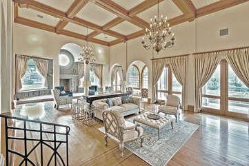 Massive Living Room in Main House
