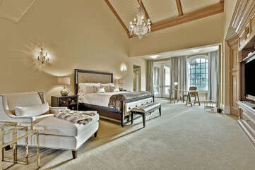 Master Suite in Main House