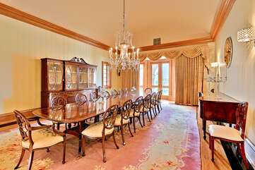 Grand Dining Room in Main House