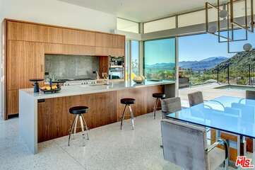 Kitchen Area with View
