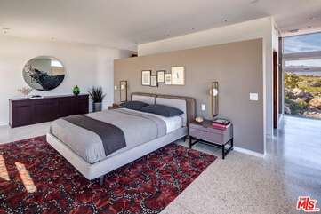 Master Bedroom With Fireplace View 2