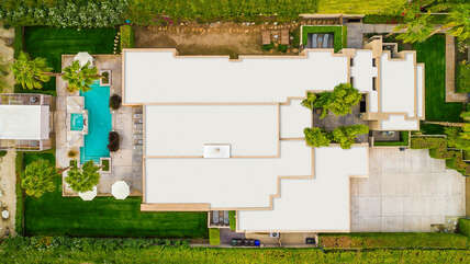 Aerial View of Casa Elizabeth