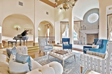 Grand Piano for Entertaining