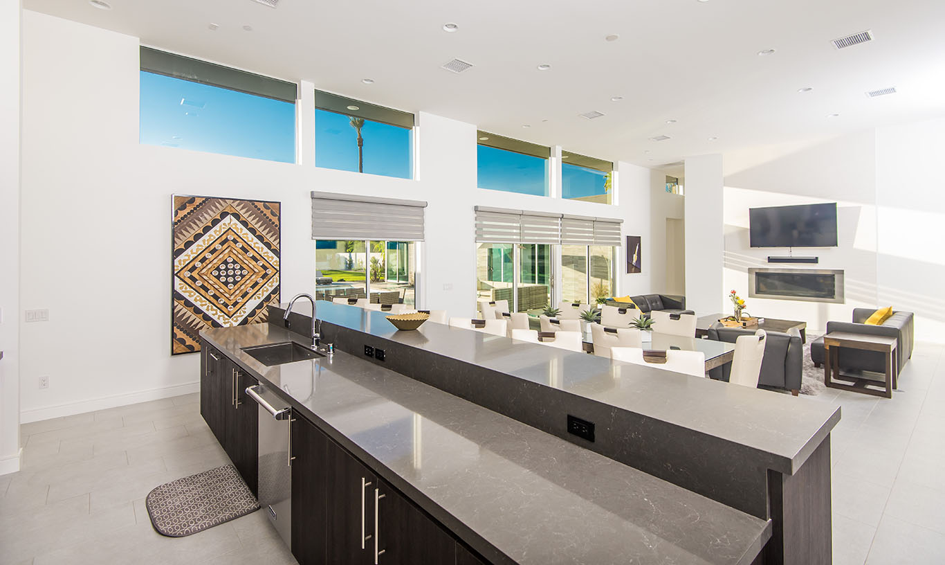 Large Kitchen Prep Area