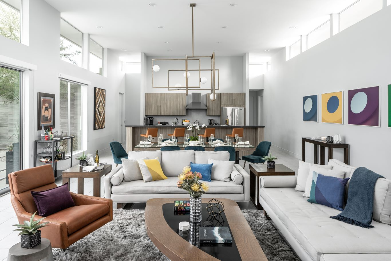 Open Concept Living / Dining Area