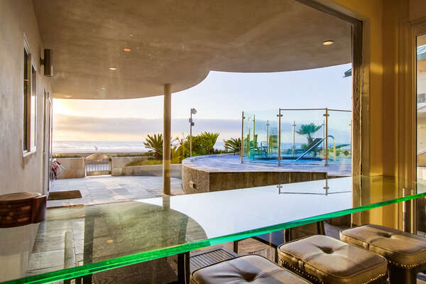 Ocean Views and Common Area Hot Tub